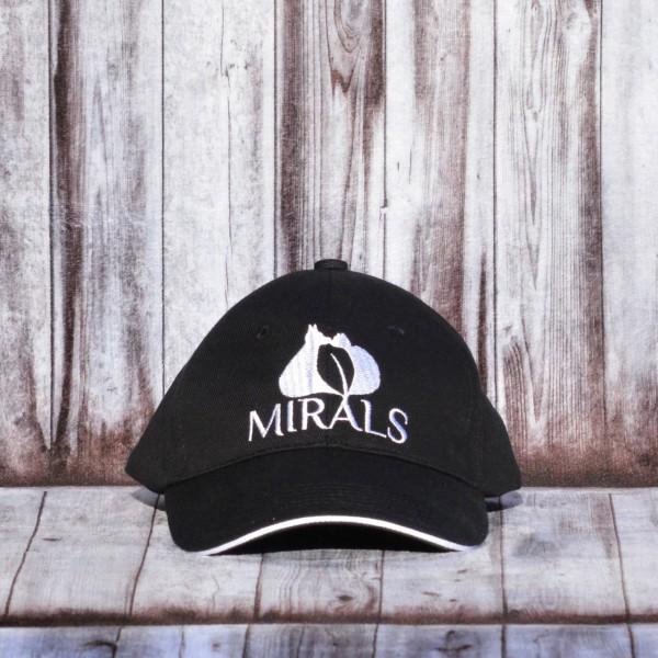 Mirals Sonnenschutz Cap schwarz