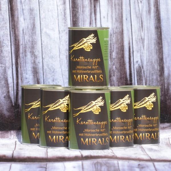 """6 x 375g Mirals Karottensuppe """"Morosche Art"""""""