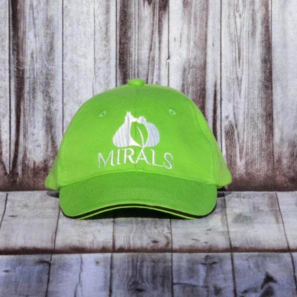Mirals Sonnenschutz Cap apfelgrün