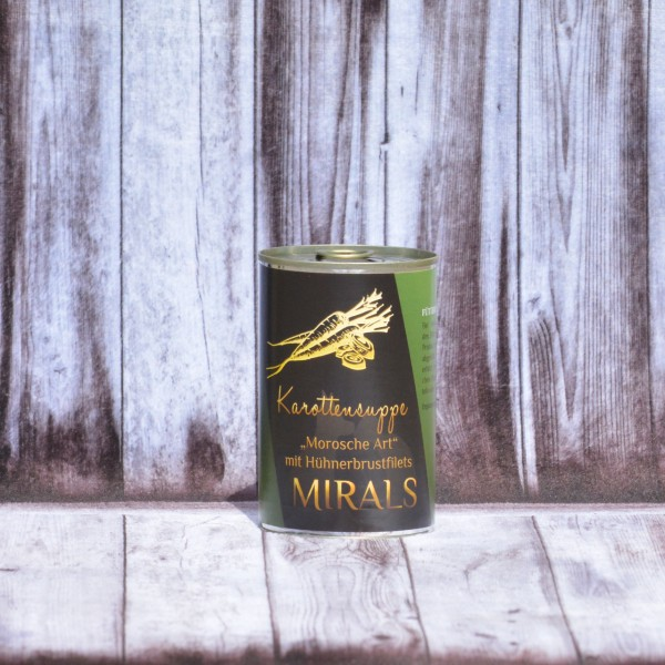 """375g Mirals Karottensuppe """"Morosche Art"""""""