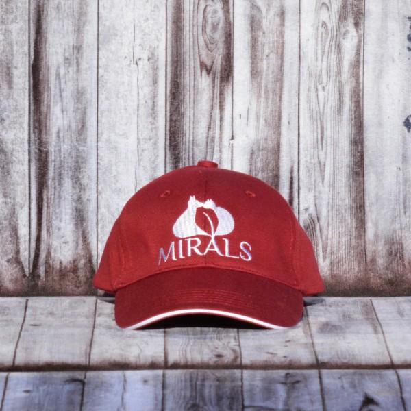 Mirals Sonnenschutz Cap bordeaux